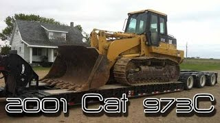 2001 Cat 973C Track Loader