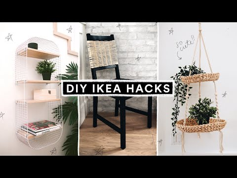 DIY IKEA HACKS - Super Affordable, Cute + EASY! (2019) // Lone Fox