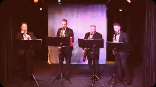 �������� ���� Sax Masters Quartet - Uptown Waltz (Lennie Niehaus) ������