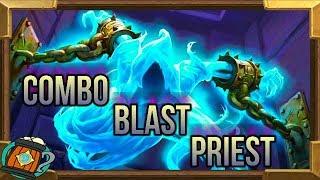 Hearthstone : Deck Tech Combo Blast Priest Knight of The Frozen Throne