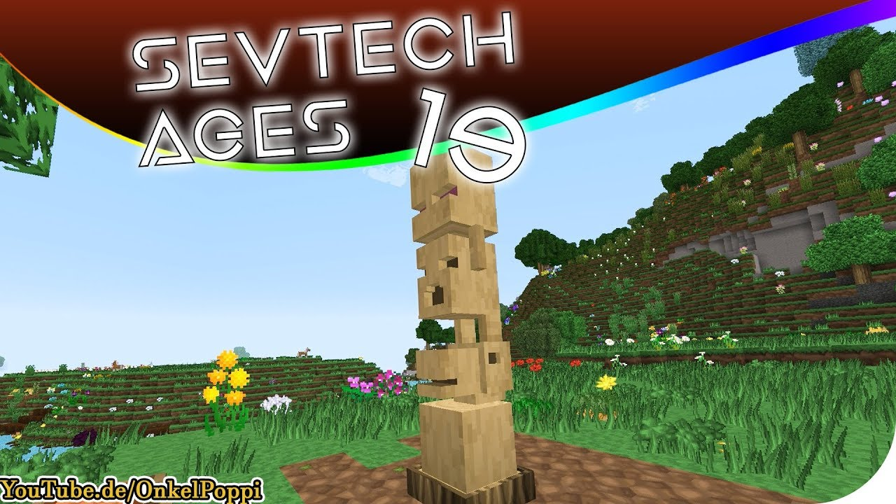 CHIMES OF DEATH - OP ENDBOSS BAYKOK - SevTech AGES #19 [Stage ONE]  #Minecraft