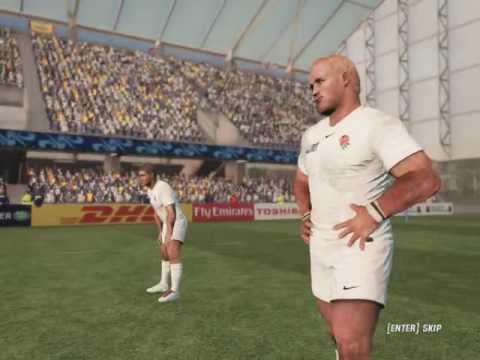 Virtual Rugby World Cup 2011 Ep #16 England vs Romania