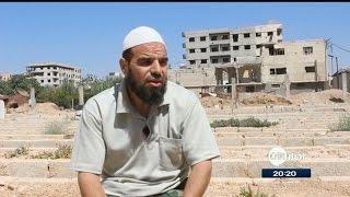 أبو عمار - ناجي من مجزرة الكيماوي والقائم على مقبرة زملكا