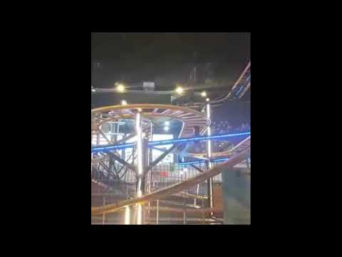 Wild mouse roller coaster |#shorts