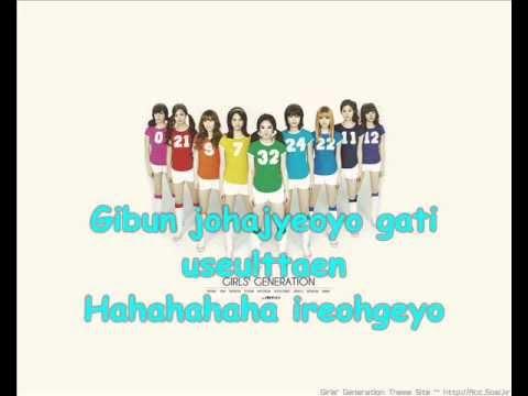 SNSD Girl's Generation - HaHaHa w/ lyrics