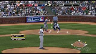 St Louis Cardinals vs Chicago Cubs MLB 2k9 GamePlay