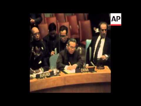 SYND 24-11-71 CHINA BECOMES PERMANENT MEMBER OF THE UN SECURITY COUNCIL