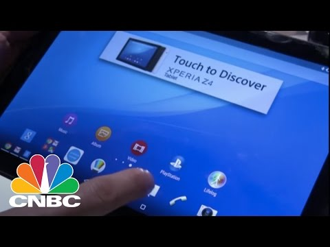 Sony Xperia Z4 Waterproof Tablet | CNBC