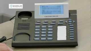 Grandstream GXP2000 Announced Transfer