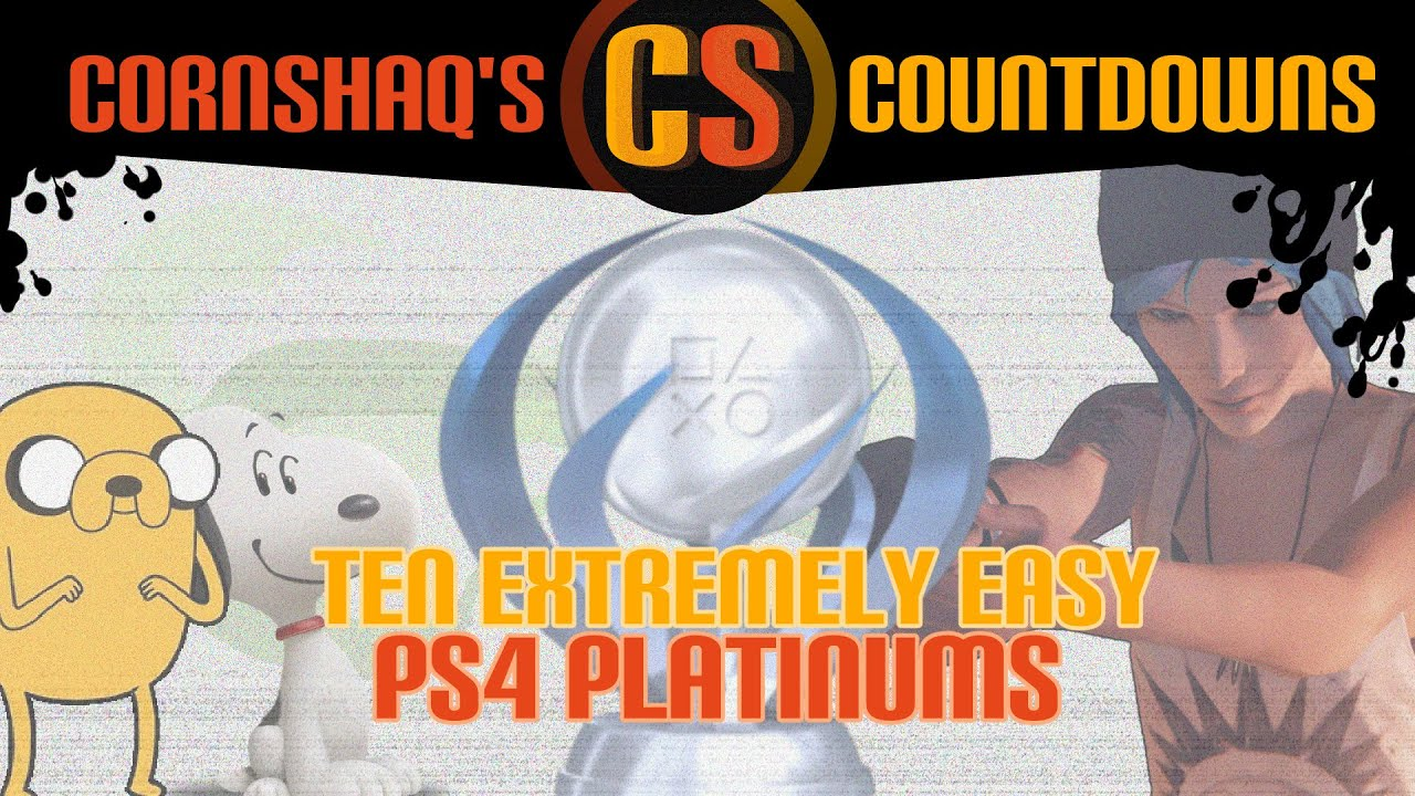 The 7 Easiest PlayStation Platinum Trophies You Can Earn