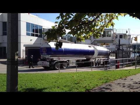 Jet Fuel Transport Truck @ Island Airport Ferry