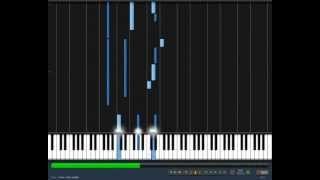 Rihanna - Unfaithful piano tutorial (synthesia)