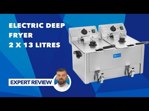Electric Deep Fryer – 2 x 13 litres