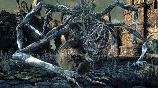 Bloodborne PS4 - босс Амигдала. Из семейного архива. Без комментариев