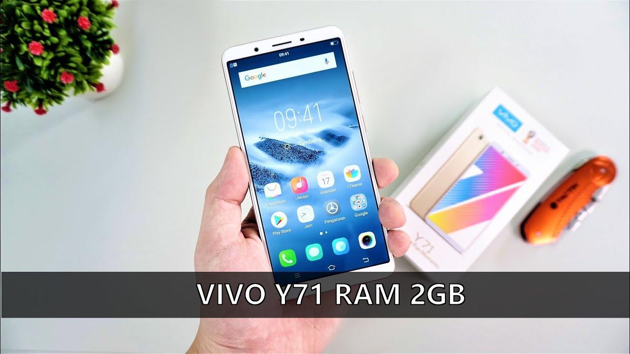 2 Juta pas ! - Unboxing VIVO Y71 RAM 2GB Indonesia - YouTube