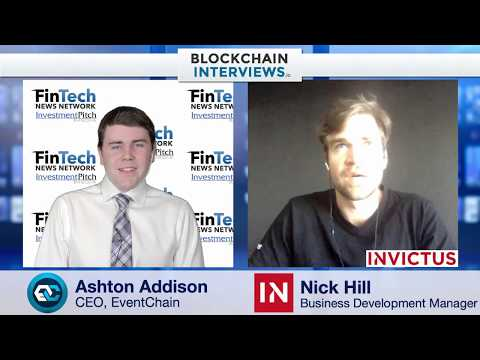 Blockchain Interviews - Nick Hill, Business Development at Invictus Capital