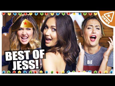 The Best Worst of Jessica Chobot: Compilation (Nerdist News)