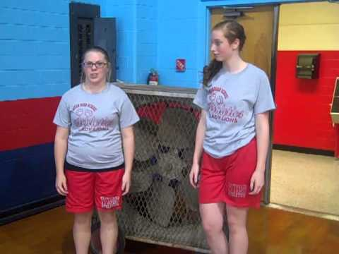 Vinton High School Girls Athletics Power Up Contest with KPLC