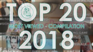 [ASMRt] Top 20 Most Viewed Videos 2018 Compilation (Tracing, Whispering, Drawing, Reading, Tapping)