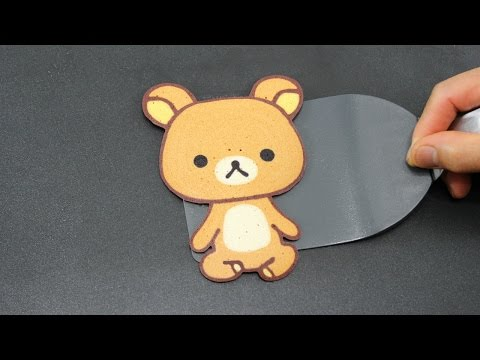 Pancake Art - Rilakkuma Teddy Bear | リラックマ | 리락쿠마 by Tiger Tomato