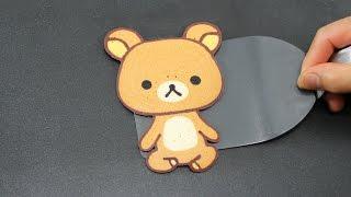 Pancake Art - Rilakkuma Teddy Bear | リラックマ | 리락쿠마 by Tiger Tomato