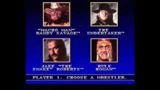 SNES WWF Games