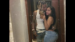 Lil Durk and his Girlfriend India Shoot at Opps who tried to Break in their Atlanta home at 5 AM.