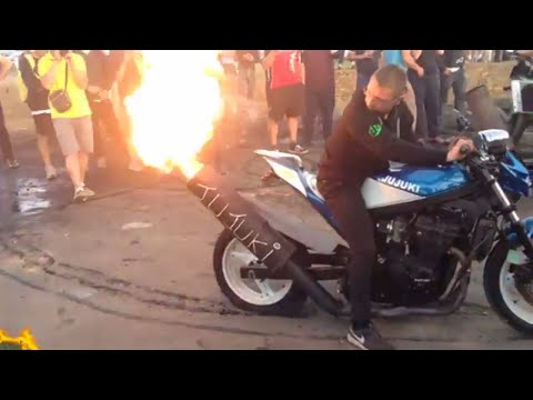 Le Mans Moto GP 2018 Camping Blue Grand Prix De France Video Des Motards: Ruptures, Burns