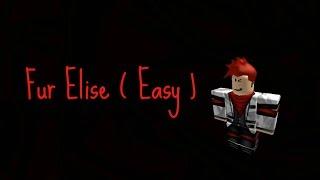 Fur Elise (fácil)-[Roblox piano cover]