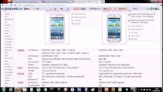 Samsung Galaxy Win Duos i8550 e Samsung Galaxy S3 Mini i8190 - Analise e diferenças - PT-BR - Brasil