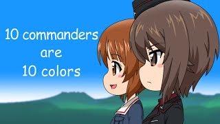 以前作った「隊長十色」の英語字幕版です。映像と音楽も少し変えてます...