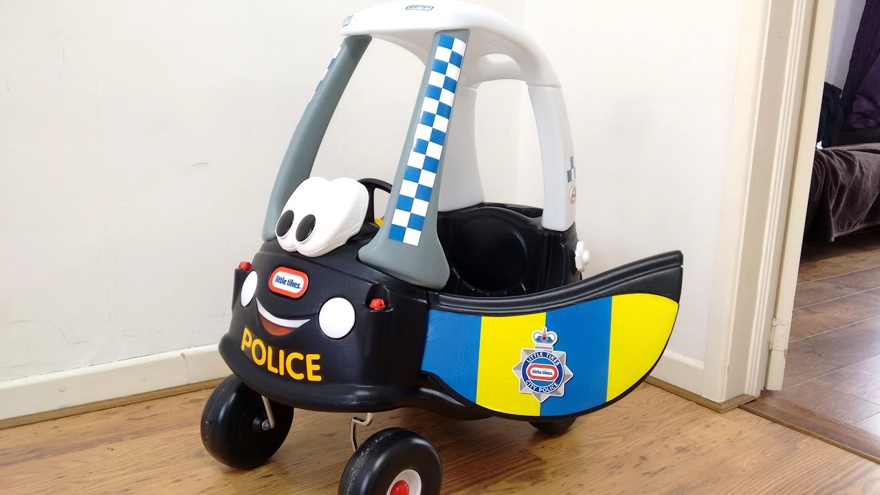 Police Car Ride On Cozy Coupe Walkaround
