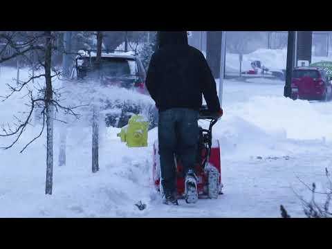 Snowstorm in Regina - March, 5, 2018 [FHD♪♫]