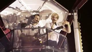 Kraftklub live auf dem Riesenrad