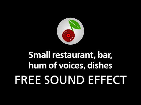 🎧 Small Restaurant Bar Hum Of Voices Dishes FREE SOUND EFFECT