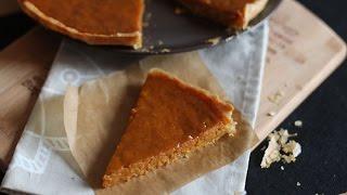 Tarte au potiron /Pumpkin pie recipe / فطيرة اليقطين (القرع الاحمر)