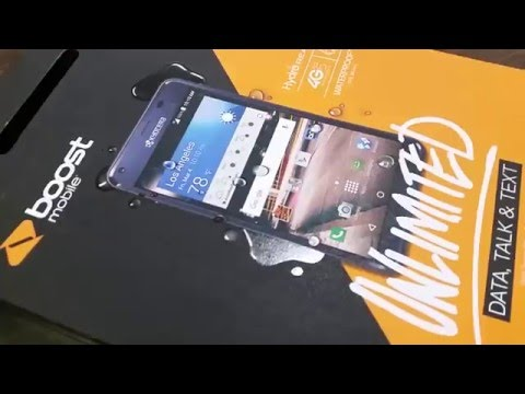 Boost mobile kyocera Hydro Reach Unboxing (HD)