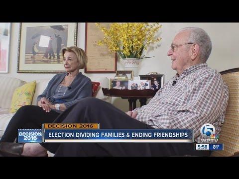 Election dividing families & ending friendships