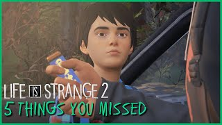 5 Things You Might've Missed | Life is Strange 2
