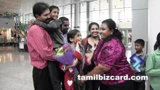 Mahisha returns home after her victory with Airtel Super Singer