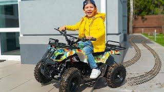 Tema Biker Ride On New Toy Quad Bike