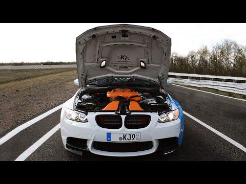 BMW M3 E90 G-Power w/ Akrapovic Exhausts: Drifts & LOUD Sound!