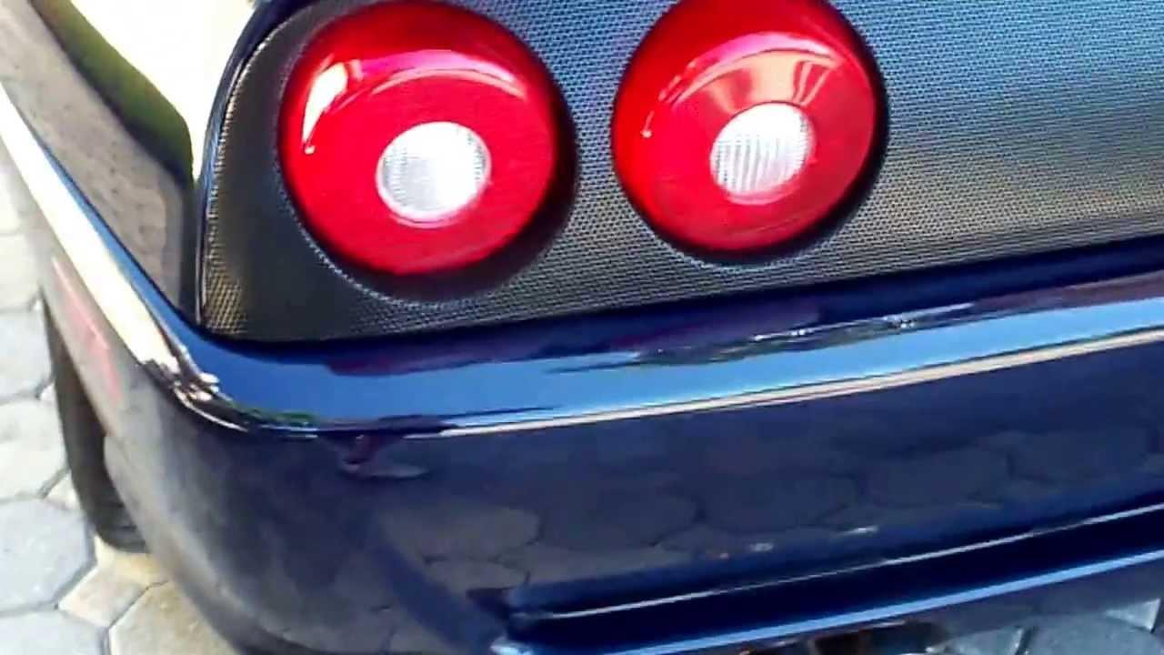 For Sale 1999 Ferrari 355 Fiorano F1 Pozzi Blue Tan