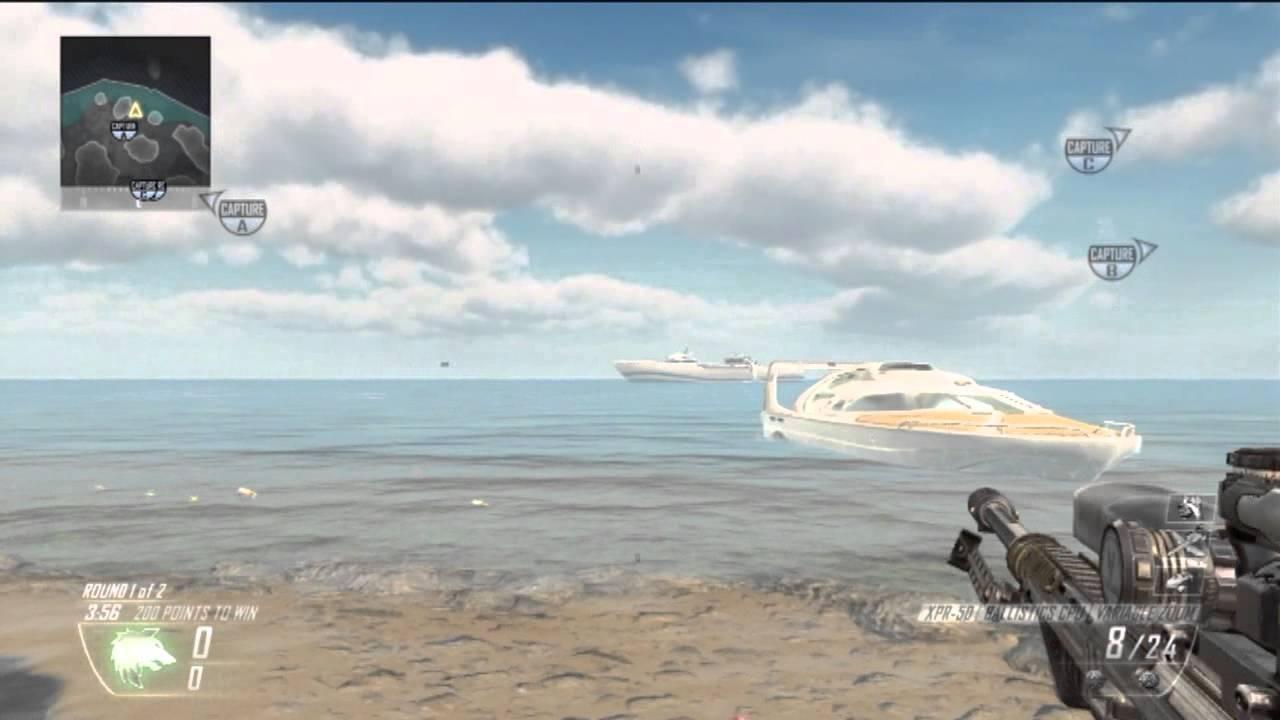 Awesome Easter Egg on Cove!! Hijacked Boat! Vengeance DLC - BO2 - YouTube