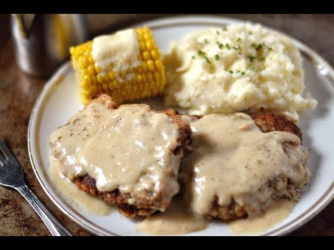 THE BEST COUNTRY FRIED STEAK AND GRAVY RECIPE!