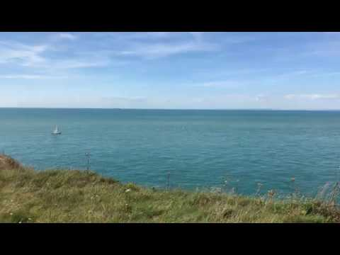 White Cliffs of Dover seen from France
