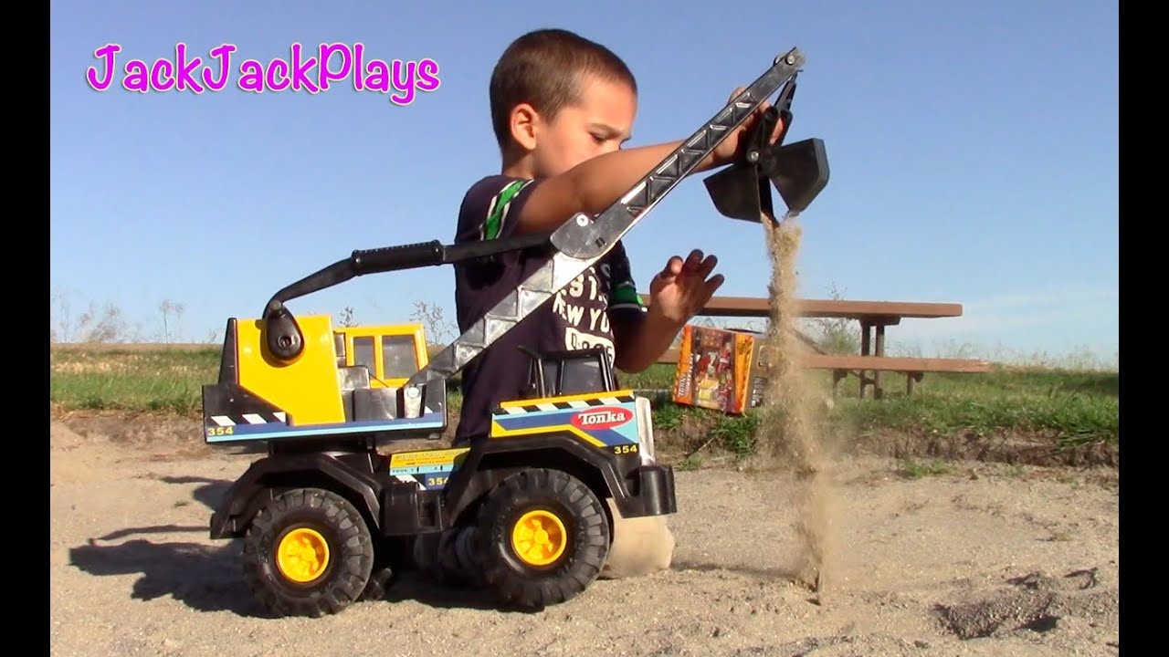 Toys Are Us Construction Toys : Construction vehicles for kids bulldozer toy unboxing