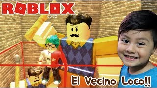 Hello Neighbor at Roblox Escape the Evil Neighbor ? Children's play
