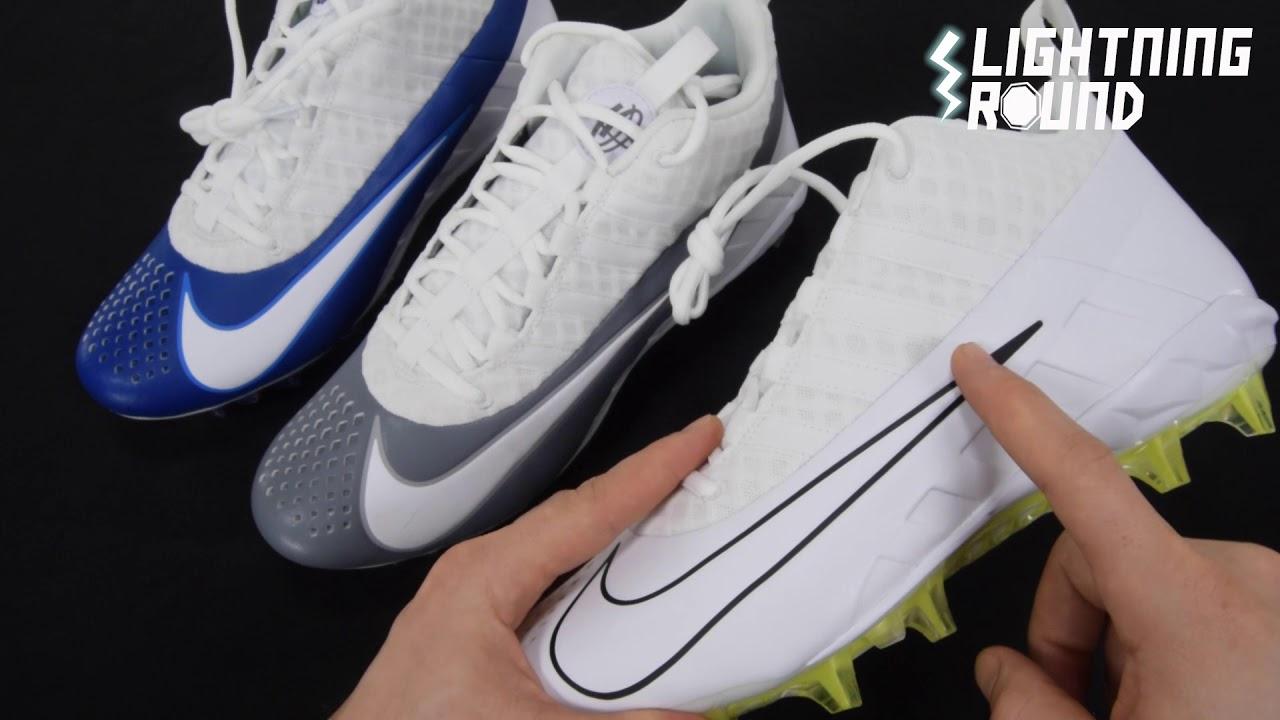63dea9fea Nike Alpha Huarache 6 Pro Lacrosse Cleats Lightning Round Video ...