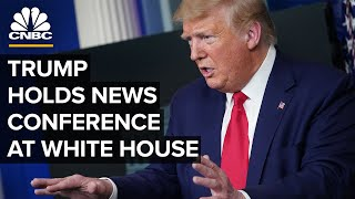 President Trump holds a news conference at the White House — 8/14/2020